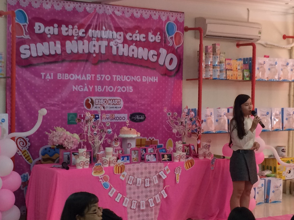 Buổi chia sẻ về sinh trắc học tại Bibo Mart Trương Định