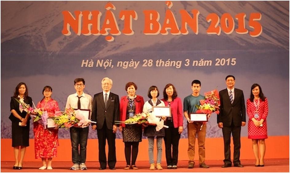 2.400 học sinh tranh tài thi học bổng SoShi du học Nhật Bản tại Hà Nội